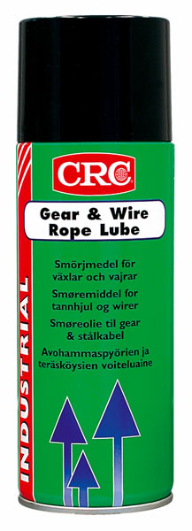GEAR & WIRE ROPE LUBE FPS 400 ML 124216004 CRC
